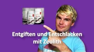 Entgiften und Entschlacken mit Zeolith