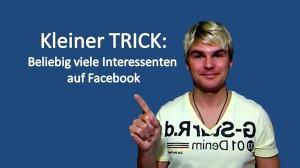 Facebook Interessenten Graph Search