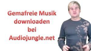 Gemafreie Musik bei Audiojungle